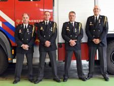 Lintjes voor jarenlange trouwe brandweerdienst