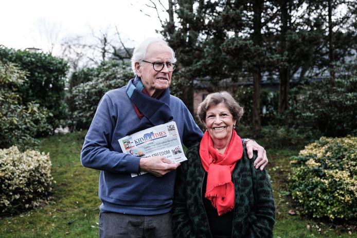Henk Kortes en Reini van Loon thuis in Winterswijk.