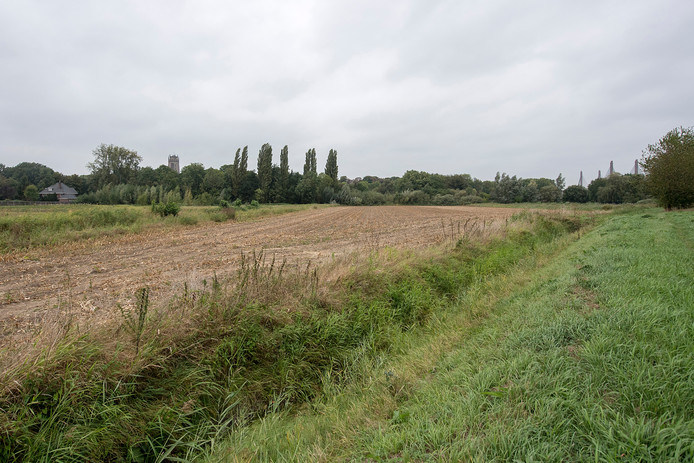 De locatie van bouwplan Virieupark.