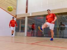 Alphen is opnieuw gastheer voor nationale top soccersquash