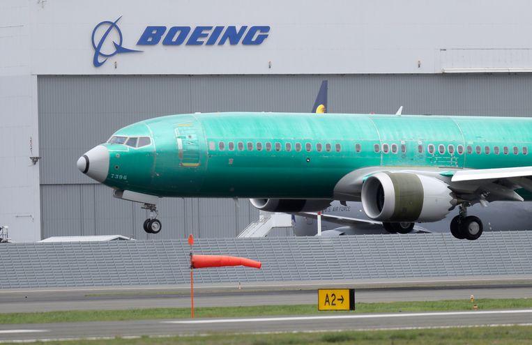 Een Boeing 737 MAX 8.