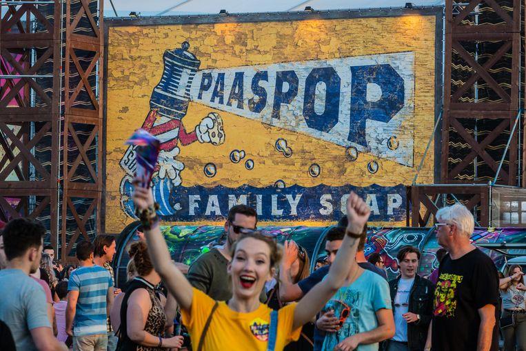 Paaspop, de traditionele aftrap van het festivalseizoen. Beeld Marcel Krijgsman
