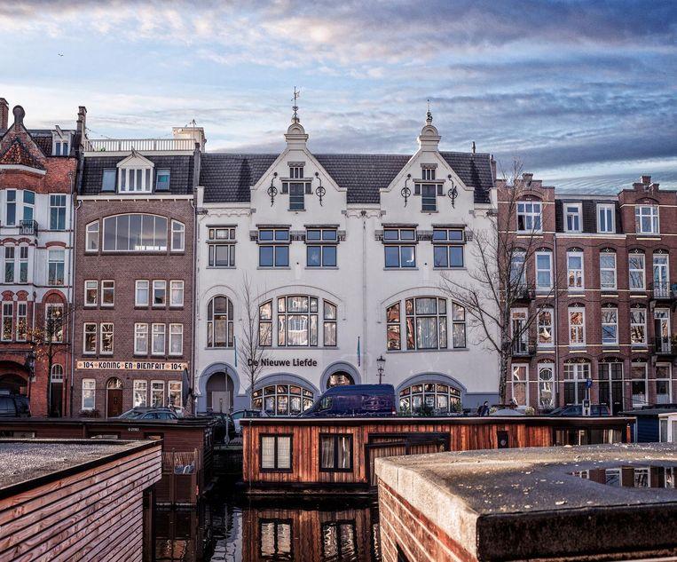 Culturele centra De Nieuwe Liefde (Da Costakade) Beeld Martin Dijkstra