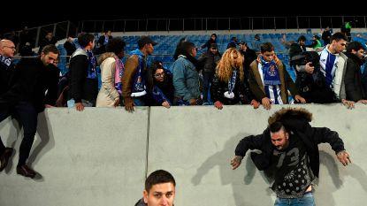 Football Talk buitenland: Fans Porto moeten veld op wegens kapotte tribune - Ryan Giggs nieuwe bondscoach Wales - Ousmane Dembélé weer geblesseerd