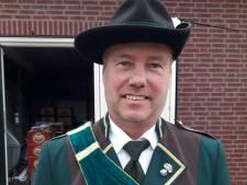 Jeu de Ruyter nieuwe Koning Schutterij Sint Hubertus Groesbeek-De Horst