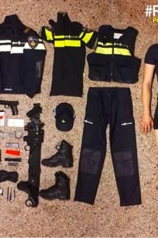 Rotterdamse politieagent (bijna) uit de kleren voor Tetris-Challenge