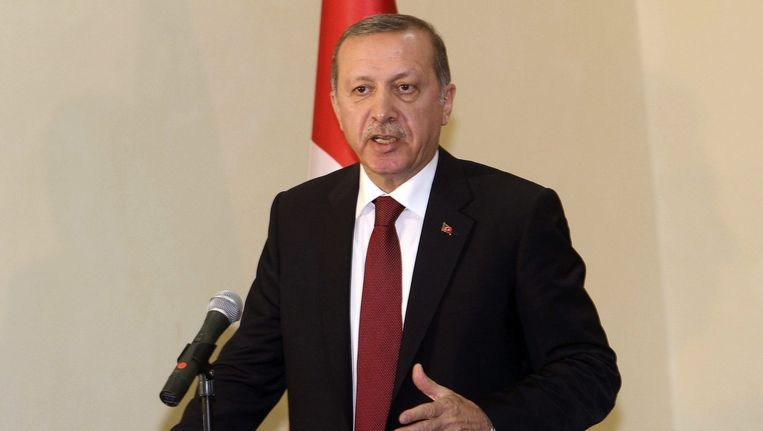 President Erdogan. Beeld reuters