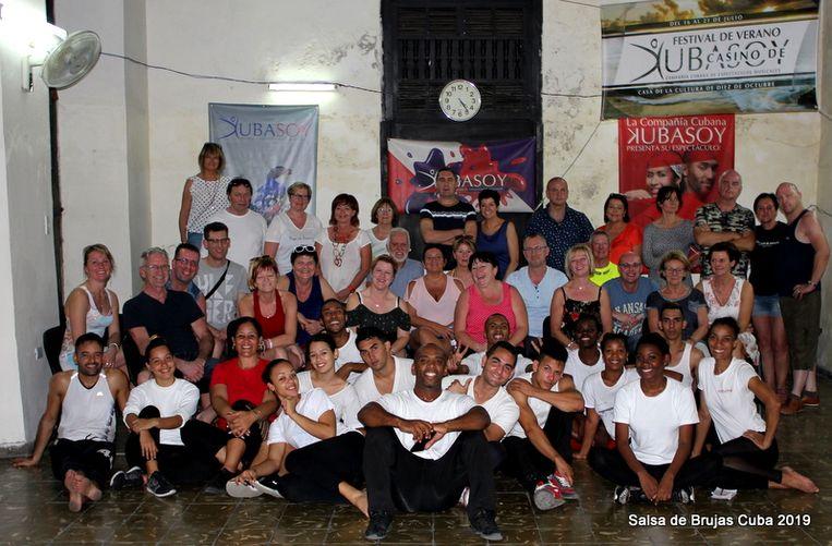 Salsa de Brujas was onlangs nog in Cuba.