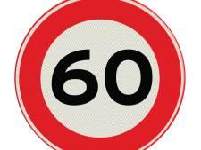 Geen 80 maar 60 kilometer per uur op Ginderdoor in Mariahout