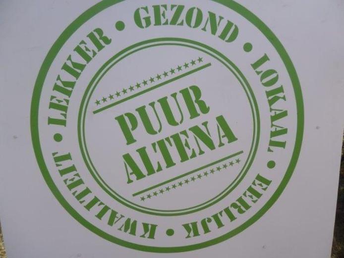 Het nieuwe logo van Puur Altena.