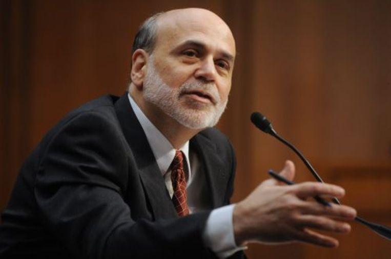 Fed-voorzitter Ben Bernanke. EPA Beeld