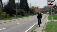 Dieperstraat krijgt streep fluoverf in afwachting van fietspad in 2020