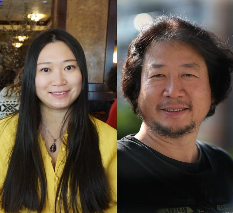Kiki Tianqi Yu en Haibo Yu. Beeld