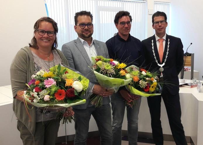 Nieuwe commissieleden Salden, Hulshof en Stoltenberg