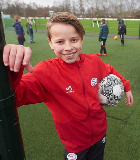 Voetballer (11) uit Mariaheide droomt van scoren in het Philips Stadion