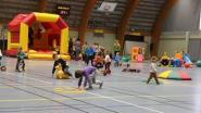 Speeltuin in sporthal Den Uyt voor kinderen tot 10 jaar