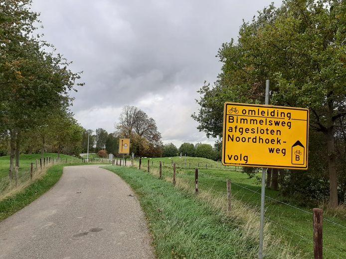 Fietsers tussen Goes en Heinkenszand moeten tot en met mei omrijden via Baarsdorp.