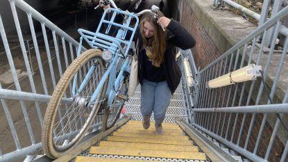 Kortste weg van Panorama naar Appel? Trotseer steile trap in Zandstraat