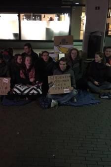 Nijmeegse studenten protesteren voor meer kamers: 'Angst voor Groningse toestanden'