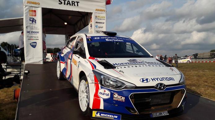 Bob de Jong start in de GTC Rally