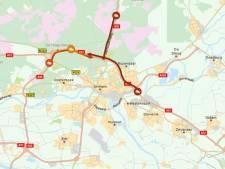 Verkeer muurvast op A12 bij Arnhem, ruim een uur vertraging