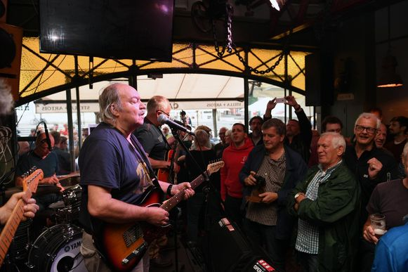 Big Bill gaf het beste van zichzelf in Café Allee op de Oude Markt.