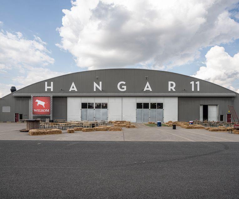 Een evenemententerrein op de voormalige vliegbasis Twente zou voor te veel stikstofuitstoot zorgen voor de natuurgebieden in de omgeving. Beeld Harry Cock/ de Volkskrant