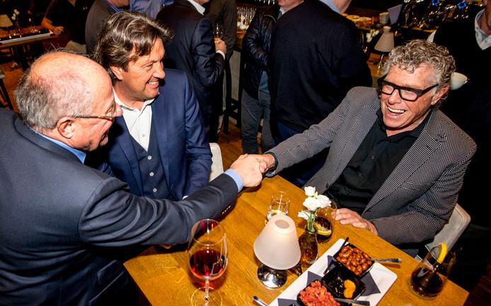 Rinus Israel met Gerard Meijer en Ben Wijnstekers.
