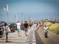 NS zet extra treinen in naar Zandvoort door zomers weer