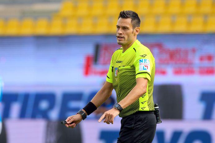 20-09-2020: Voetbal: Parma v Napoli: Parma Referee Maurizio Mariani