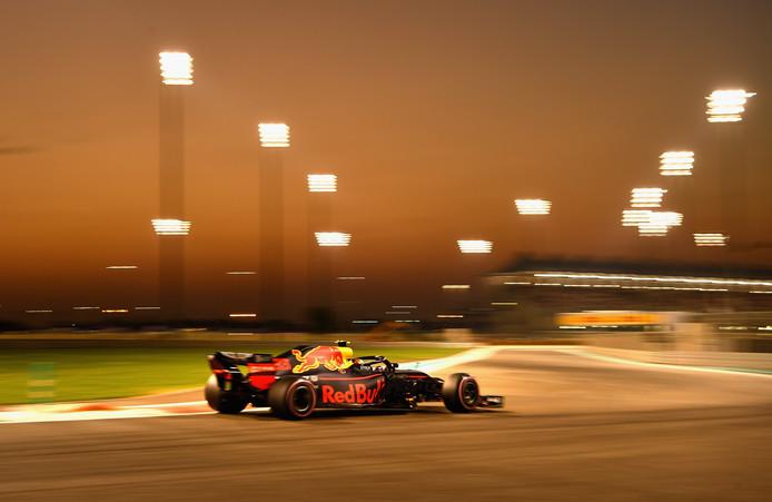 Max Verstappen start morgen in de race vanaf de zesde positie.