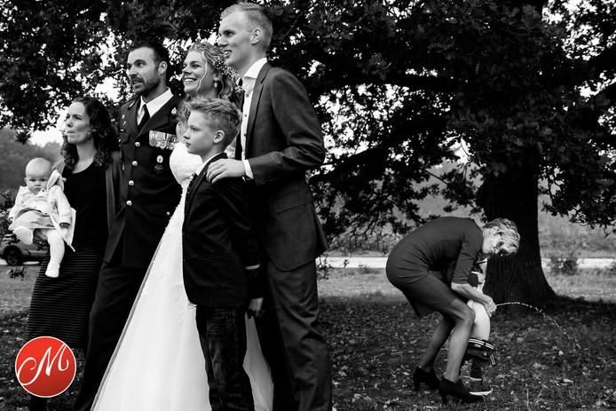 Ja'eli van Beveren uit Luttelgeest maakte in september dit jaar deze prijswinnende foto tijdens een bruiloft in Vledder.