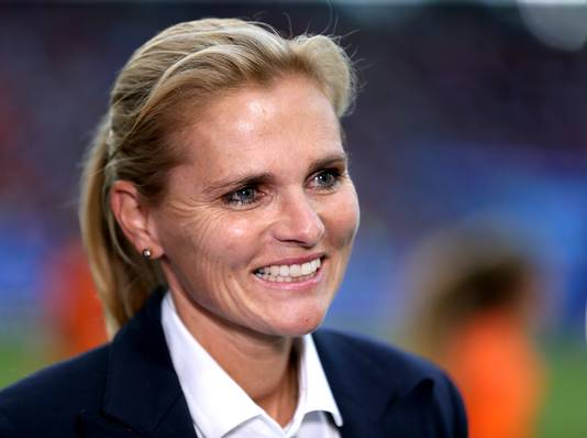 Sarina Wiegman, bondscoach van Oranje.
