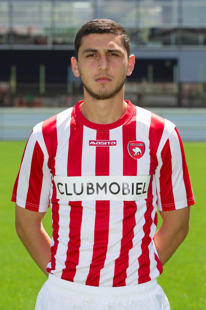 FC Oss-verdediger Haris Memic