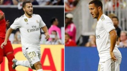 """Hazard geeft toe dat hij """"te dik"""" aan avontuur bij Real begon: """"Als ik vakantie heb, dan heb ik vakantie"""""""