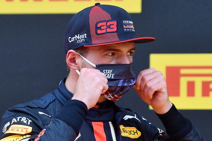 Max Verstappen is tevreden met zijn plaats op de eerste startrij en ziet kansen om de race morgen te winnen.