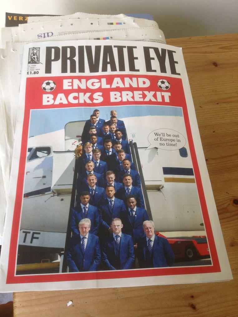 Satirisch blad Private Eye. Beeld Patrick van IJzendoorn
