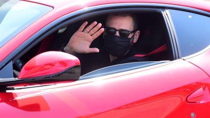 """""""De aankomst van Zorro"""", Leonardo Bonucci arriveert met zwart mondmasker op oefencentrum Juventus"""