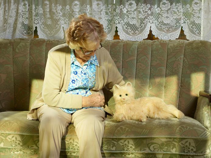 Zeer Hoe een robotkat het leven van dementerende bejaarden verrijkt &FM21