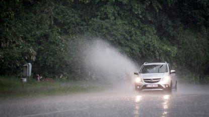 Deze namiddag geldt code geel: KMI waarschuwt voor onweer met hagel