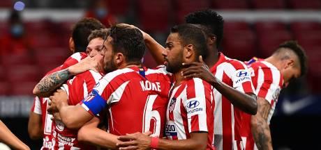 Atlético Madrid steviger op derde plek in La Liga