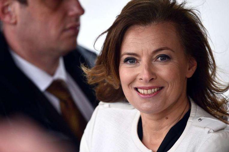 'First Lady' Valerie Trierweiler. Beeld afp