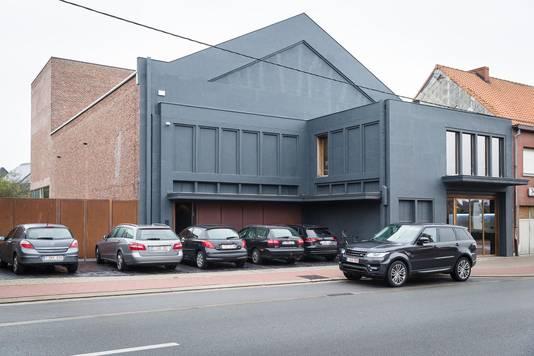Het productiehuis was vroeger cinema Regi.