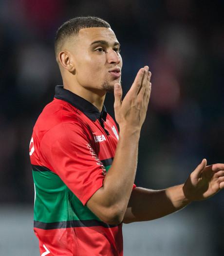 Jordan Larsson wil vechten voor een basisplaats bij NEC