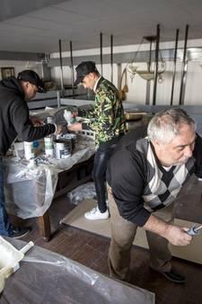 Restaurant Turquiose in Enschede nog niet uit de brand na keukenbrand