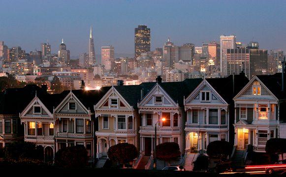 San Francisco is een geweldig dure stad om in te wonen, maar Sam Dogens passieve inkomsten zijn hoog genoeg.