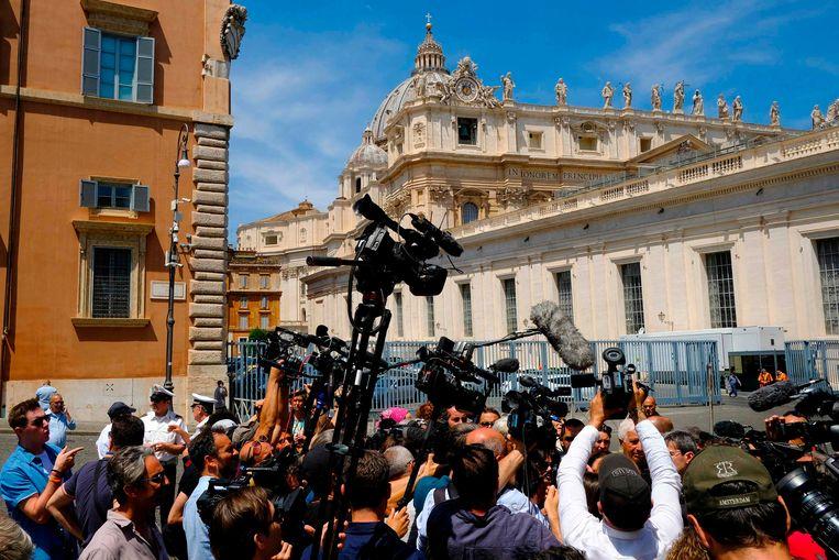 De pers rond de broer van Emanuela Orlandi.