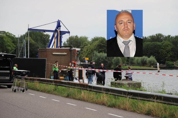 Het stoffelijk overschot van Festim Lato werd vrijdag aangetroffen in het Amsterdam-Rijnkanaal. Een rechercheteam (TGO) onderzoekt zijn dood