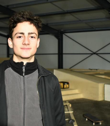 Thomas (19) is Haarlemmer van het jaar en vertelt over zijn skatepark: 'Het idee kwam na een taakstraf'