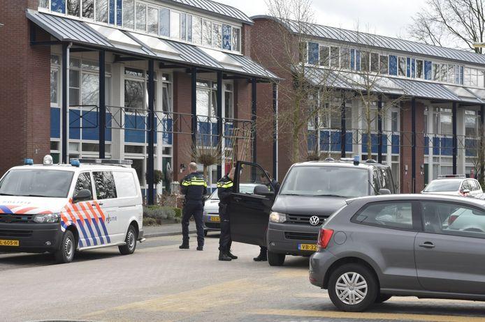 De steekpartij vond plaats aan de ds Lamensweg in Elspeet